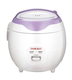 Cuckoo CR-0671V Rice Cooker, 3 Liters / 3.2 Quarts, Violet/W