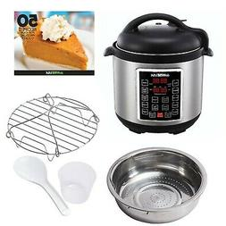 GoWISE USA GW22620 4th-Generation Electric Pressure Cooker w