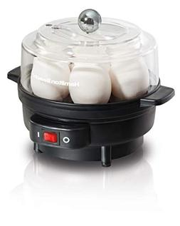 Hamilton Beach 25500 Egg Cooker with Built-In Timer and Poac