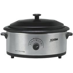 NESCO 4816-25-30 6-Quart Nonstick Roaster Oven  Home, garden