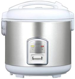 Oyama - 7-cup Rice Cooker - White
