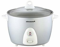 Panasonic SR-G10FGL Heavy Duty Automatic Rice Cooker, Silver