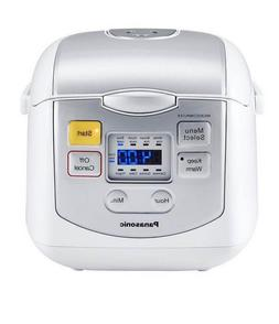 Panasonic SR-ZC075K 4-Cups  Rice Cooker & Multi-Cooker, Whit