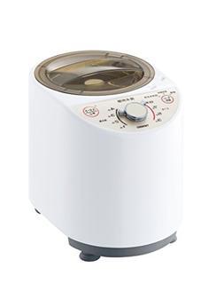 Twinbird Polished Rice Machine Compact White Mr-e500w by Unk