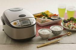 Rice Cooker and Warmer with Built in Retractable Power Cord