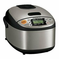 Zojirushi NS-LAC05XT Micom 3-Cup Rice Cooker and Warmer, Bla