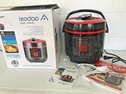 Aobosi Pressure Cooker 6Qt 8-in-1 Electric Multi-cooker,Rice