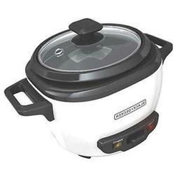 Applica RC503 Black-Decker 3-Cup Rice Cooker White Out