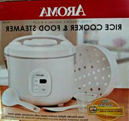 Aroma ARC-838TC 8 Cup Digital Rice Cooker with Non Stick Inn