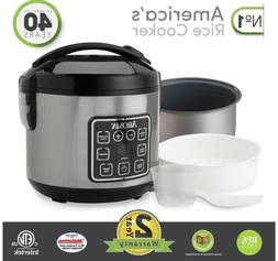 Aroma Housewares ARC914SBD 8 Cups Rice Cooker & Steamer