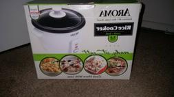 AROMA 2- 6 CUP POT STYLE RICE COOKER New.