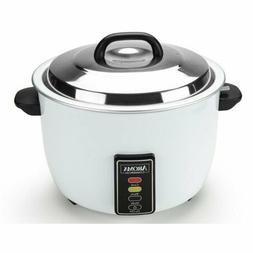 Aroma 60 Cup Commercial Electric Rice Cooker ARC-1033E White