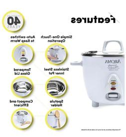 Aroma Houseware Simply Rice Cooker Stainless Steel Inner Coo