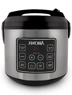 Aroma Housewares 20 Cup Cooked  Digital Rice Cooker, Slow