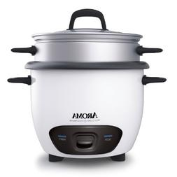 Aroma Housewares 6-Cup   Pot Style Rice Cooker and Food Stea