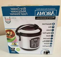 Aroma Professional 8-Cup Stainless Steel Digital Rice Cooker
