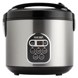 Aroma Digital Rice Cooker And Food Steamer; 4-cup Uncooked;