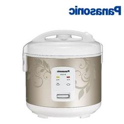 Panasonic Automatic 5-Cup Electric Rice Cooker With Steamer