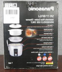 PANASONIC  Automatic Rice Cooker/Steamer SR-Y18FGJ SILVER NI
