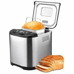 Automatic Rice Cookers 2LB Bread Maker Machine, Beginner Fri