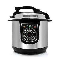NutriChef AZPKPRC15 Electronic Pressure Cooker, 10.41 pounds