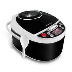 NutriChef AZPKPRC16 Digital Elec.Pressure Slow Cooker, 9.04