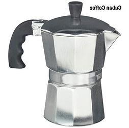 Brand New IMUSA B120-42V Aluminum Stovetop Coffee Maker 3 Cu
