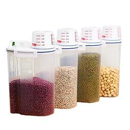 LIANNA Beans,Oatmeal,Rice Storage Bin 2KG Portable Food
