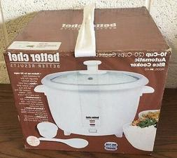 Better Chef Better Results 10 Cup Automatic Rice Cooker IM-4