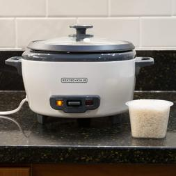 Black & Decker 6 Cup Automatic Rice and Food Steamer Cooker