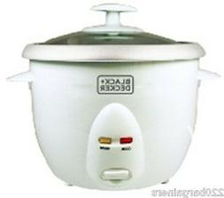 Black And Decker RC1050 220 Volt 5-Cup Rice Cooker  Not For