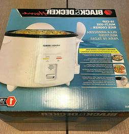 BLACK & DECKER RC446 16-Cup RICE COOKER *NEW*