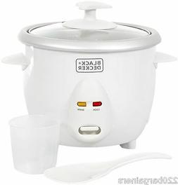 Black And Decker RC650 220-240V 220 Volt Rice Cooker 3 CUP w