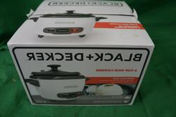Black+Decker 3 Cup Electric Rice Cooker With Keep Warm Funct