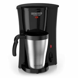 Black+Decker Brew 'n Go Personal Coffeemaker with Travel Mug