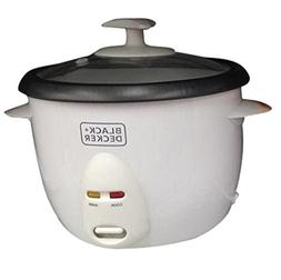 Black & Decker RC1050 350W 1 L 4.2 Cup Rice Cooker , White