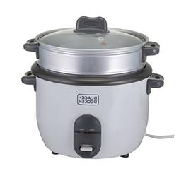 Black & Decker RC1860 700W 1.8 L 7.6 Cup Rice Cooker , White