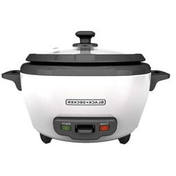 BLACK+DECKER RC506 6 Cup Cooked 3 Cup Uncooked Rice Cooker &