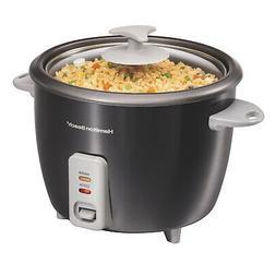 Black Electric Rice Cooker & Steamer Dishwasher Safe Non
