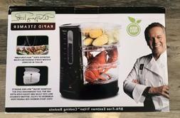 Wolfgang Puck 1400 Watt BPA-Free 3-Tier Rapid Food Steamer -