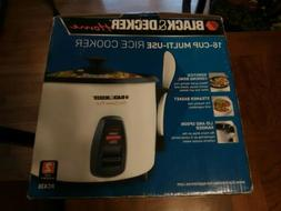 Brand New Black & Decker 16 Cup Multi Use Rice Cooker Plus R