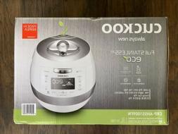 Brand New Cuckoo Electric CRP-AHSS1009FN 10 Cups IH Pressure
