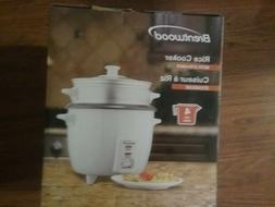 BRAND NEW IN BOX RICE COOKER BY BRENTWOOD.
