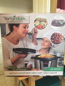 BRAND NEW Nutrichef Multi-Food Prep Pressure & Rice Cooker