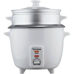 Brentwood Appliances TS-600S Rice Cooker with Food Steamer