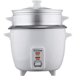 BRENTWOOD BTWTS600SW Brentwood TS-600S 5-Cup Rice Cooker wit