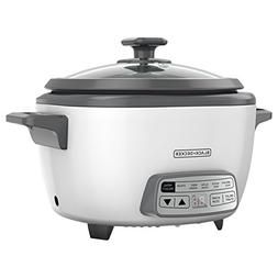 Brown Rice Cooker, Portable 14-cup Digital Food Steamer Whit