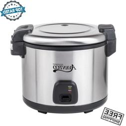 Commercial 60 Cup 30 Cup Raw Electric Rice Cooker Warmer Sta
