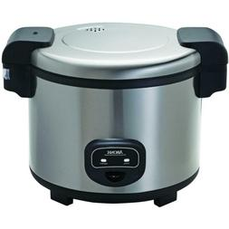 Commercial Rice Cooker 60-cup W/  2-Piece Measuring Cups Spa