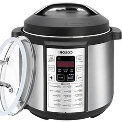 COSORI 7-in-1 Multifunctional Electric Pressure Cooker with